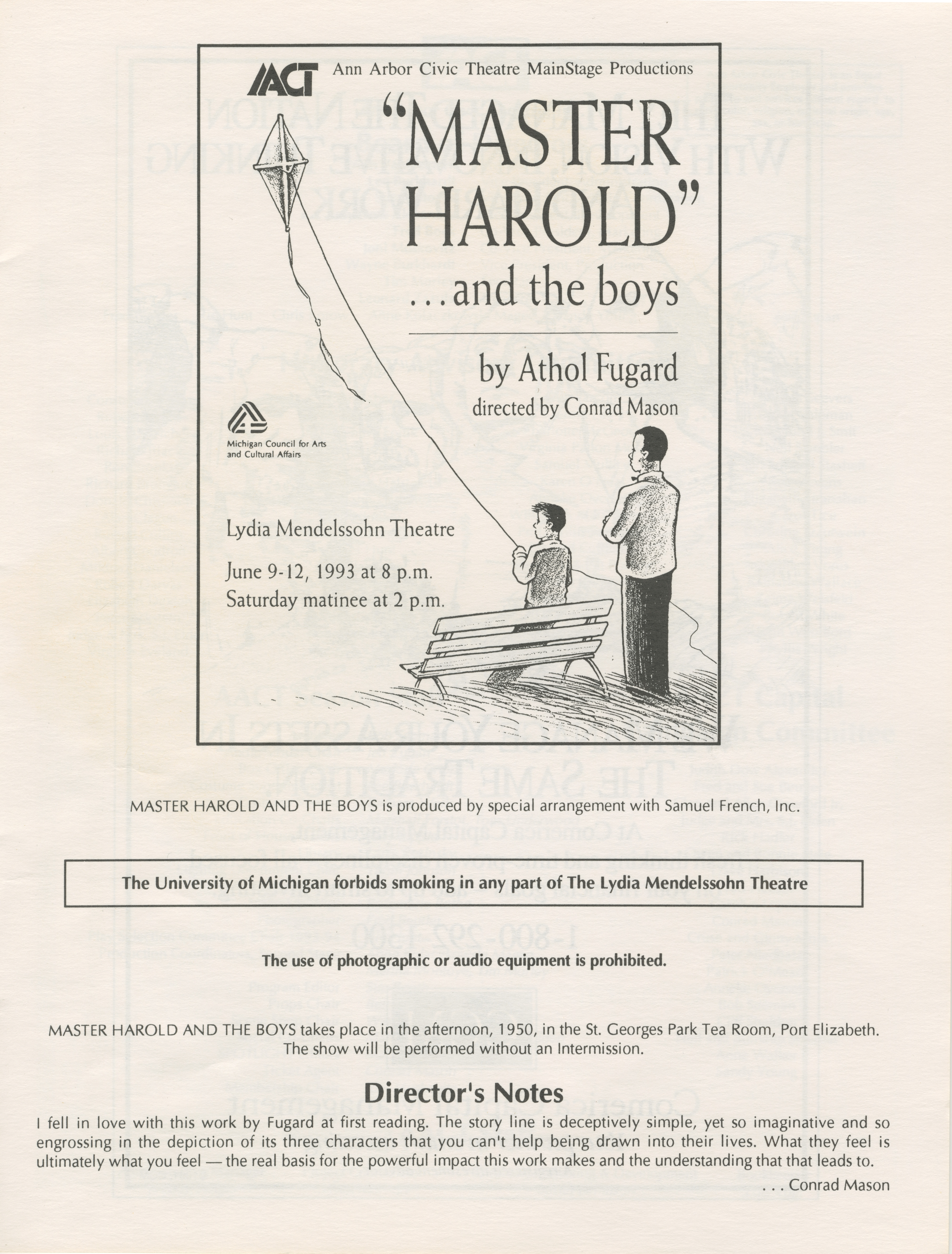 an analysis of harolds fathers characteristics in master harold and the boys Sam's attitude toward willie has certain recognizable tolstoy-like characteristics your father is your father analysis: 'master harold' and the boys.