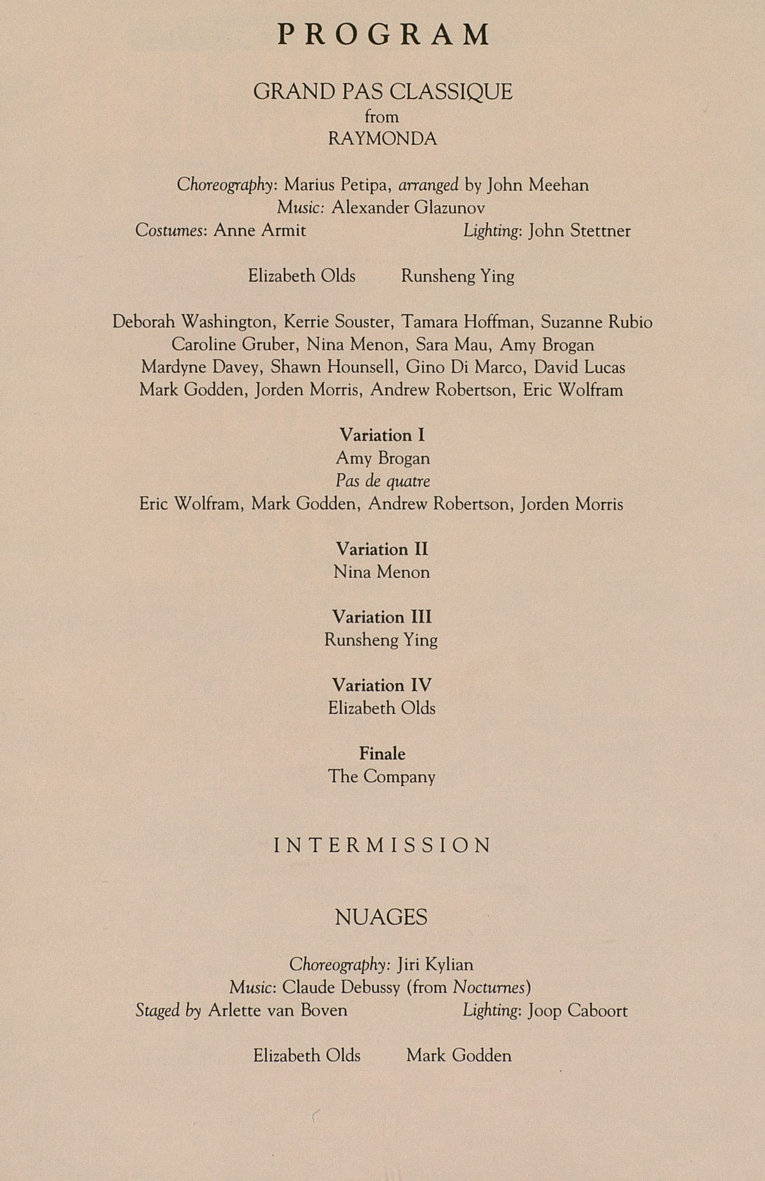 published in ums concert programs season cxii 1990 1991 original ...