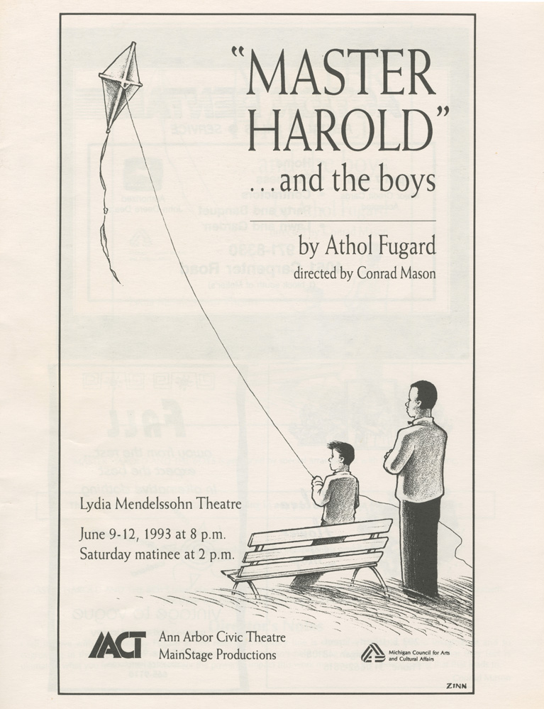 Lesson Plan #2: Master Harold...and the boys